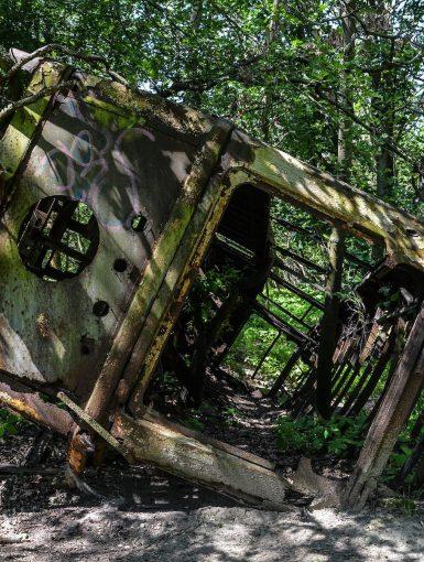 front tram strassenbahn brandenburg dallgow doeberitz potsdam abandoned urbex lost places germany deutschland