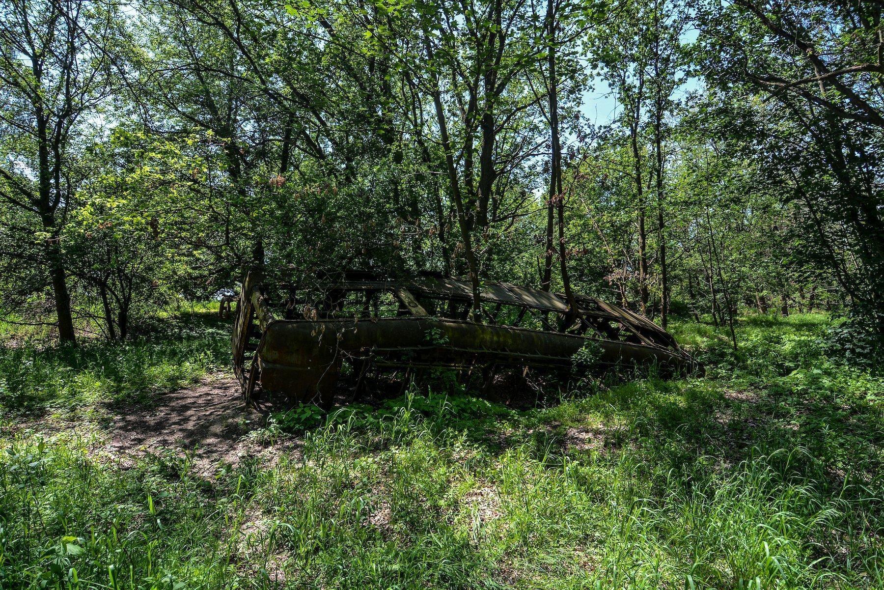 tram skeleton strassenbahn brandenburg dallgow doeberitz potsdam abandoned urbex lost places germany deutschland