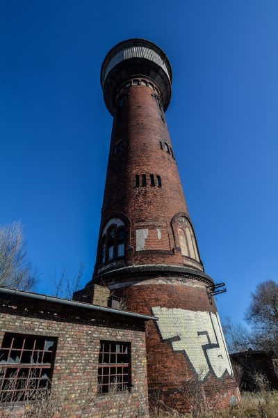 backside water tower rangierbahnhof wustermark train yard elstal berlin lost places abandoned urbex brandenburg