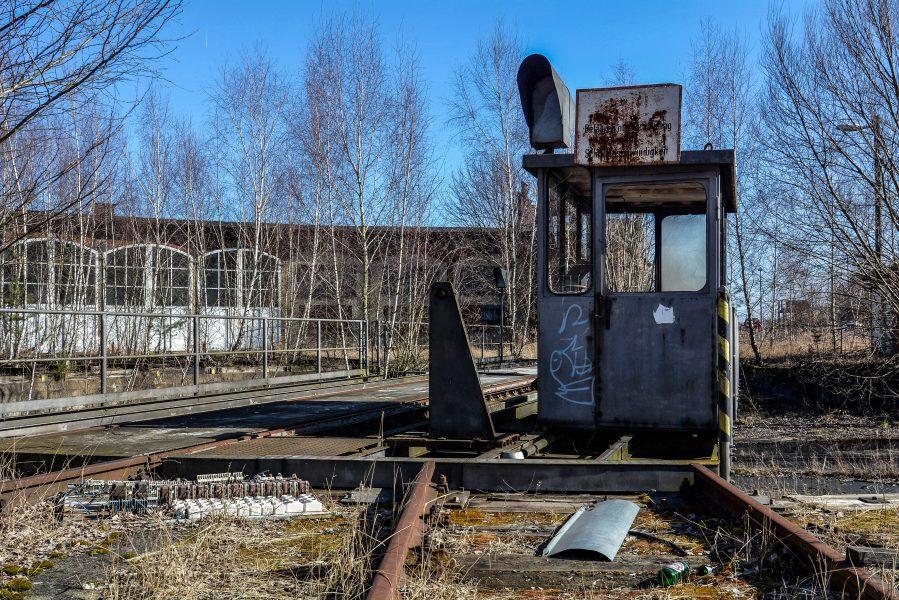 ringlokschuppen haus train yard rangierbahnhof wustermark elstal berlin lost places abandoned urbex brandenburg