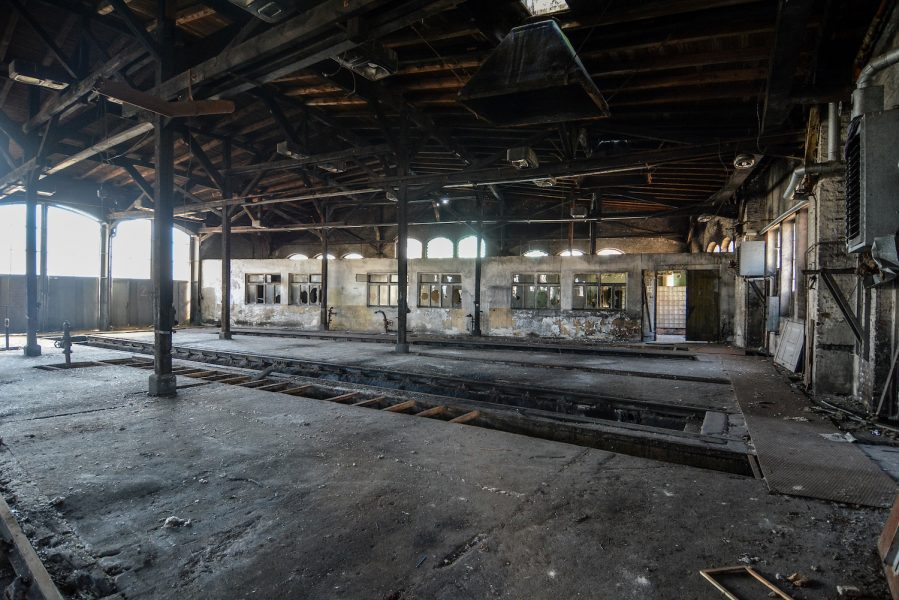 workshop ringlokschuppen rangierbahnhof wustermark train yard elstal berlin lost places abandoned urbex brandenburg