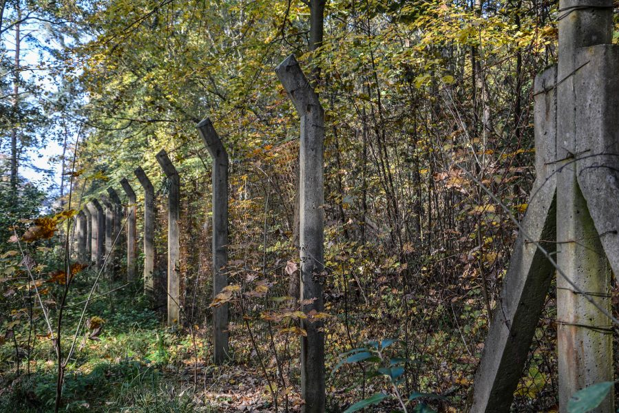 ss schiessstand sachsenhausen oranienburg zaun fence ddr nva urbex abandoned lost places germany