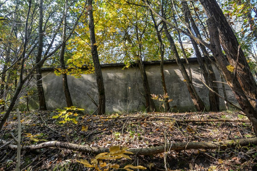 ss schiesstand sachsenhausen oraninenburg brandenburg lost places urbex abandoned germany bulletcatch kugelfang