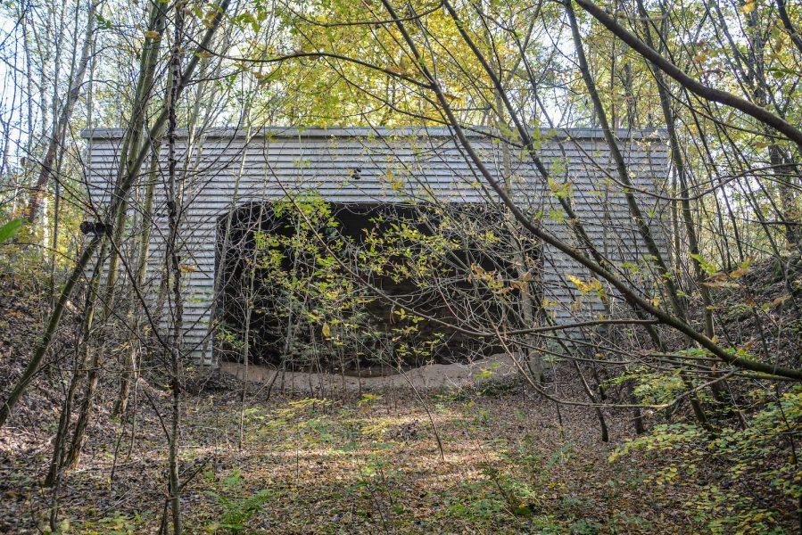 ss schiesstand sachsenhausen oraninenburg brandenburg lost places urbex abandoned germany kugelfang bulletcatch