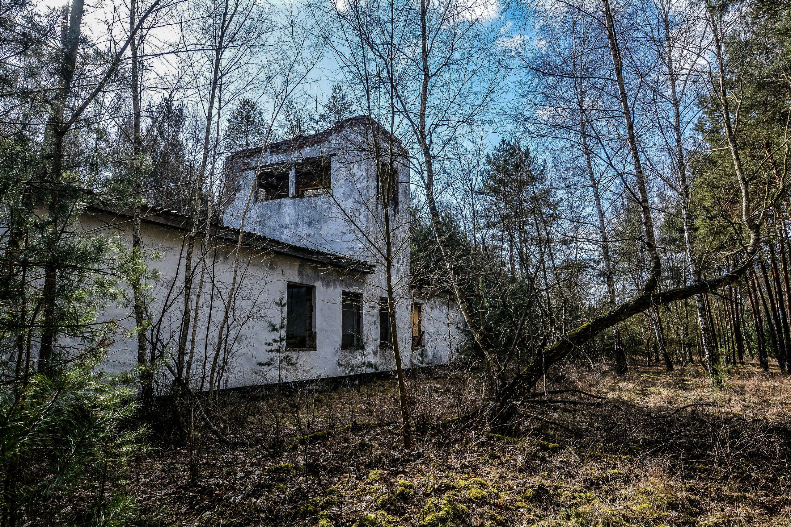 abandoned soviet observation post forst zinna adolf hitler lager luckenwalde juterbog sowjet kaserne soviet military barracks germany lost places urbex abandoned