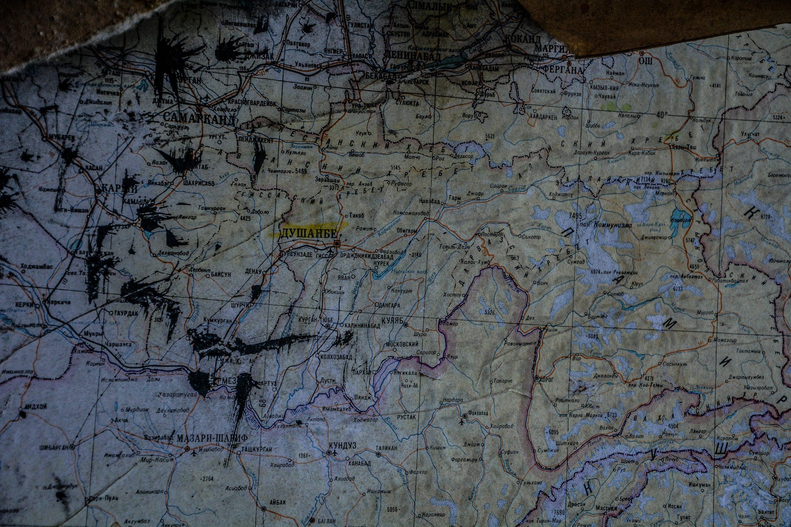 map dushanbe tajikistan forst zinna adolf hitler lager luckenwalde juterbog sowjet kaserne soviet military barracks germany lost places urbex abandoned