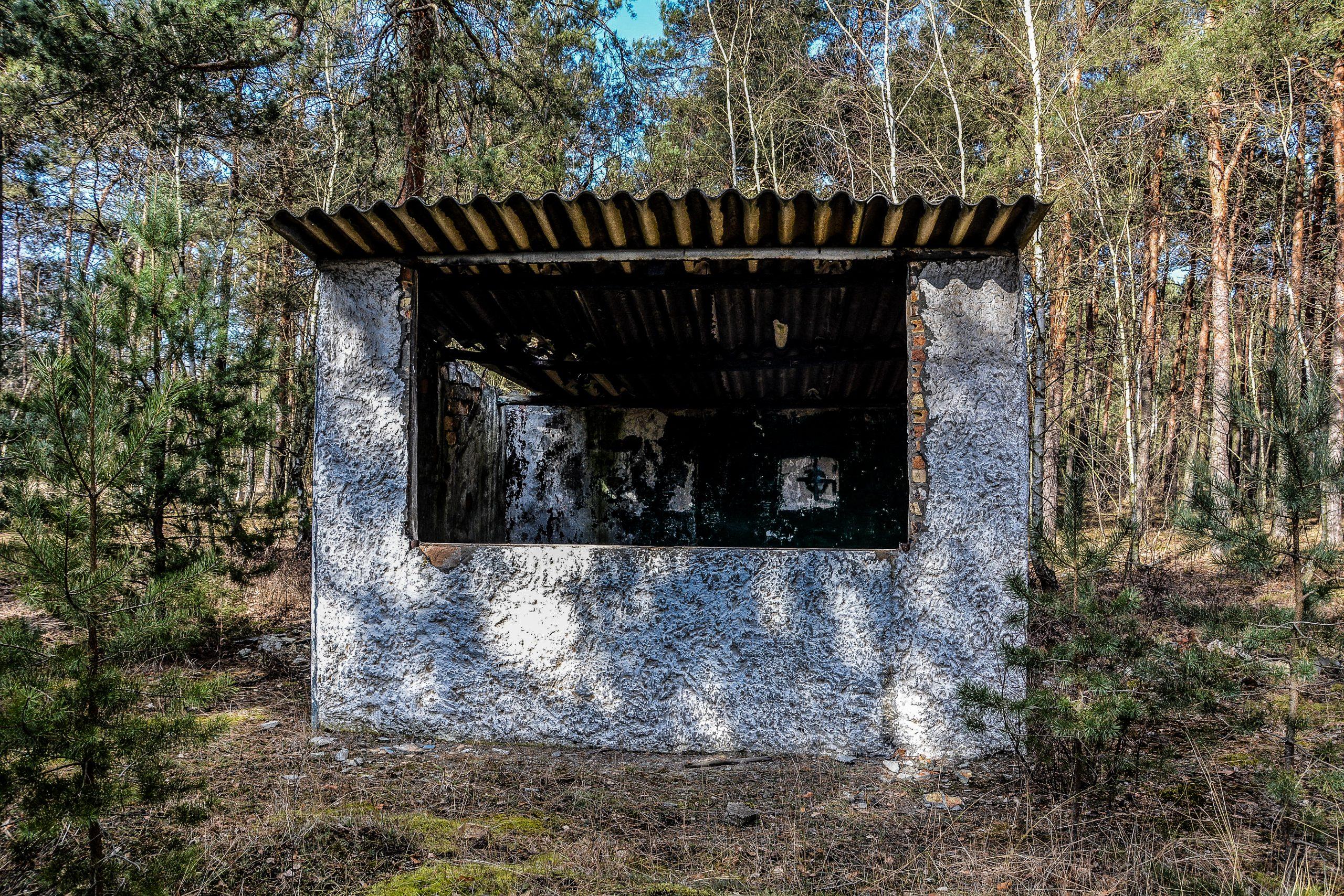 observation bunker forst zinna adolf hitler lager luckenwalde juterbog sowjet kaserne soviet military barracks germany lost places urbex abandoned