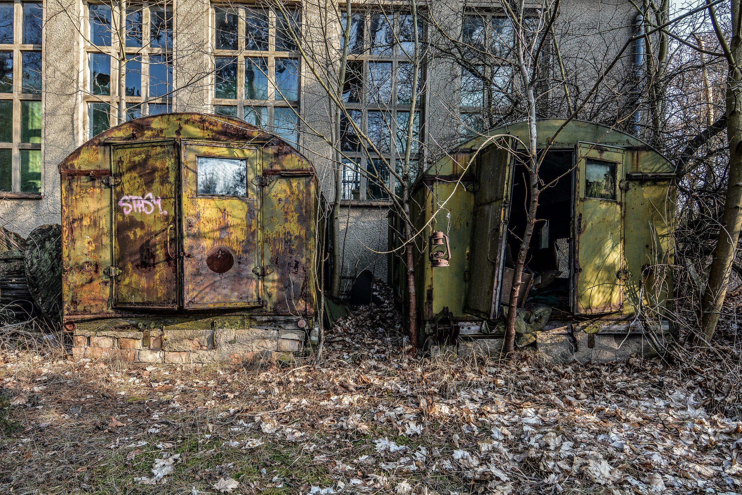 soviet caravan storage building forst zinna adolf hitler lager luckenwalde juterbog sowjet kaserne soviet military barracks germany lost places urbex abandoned