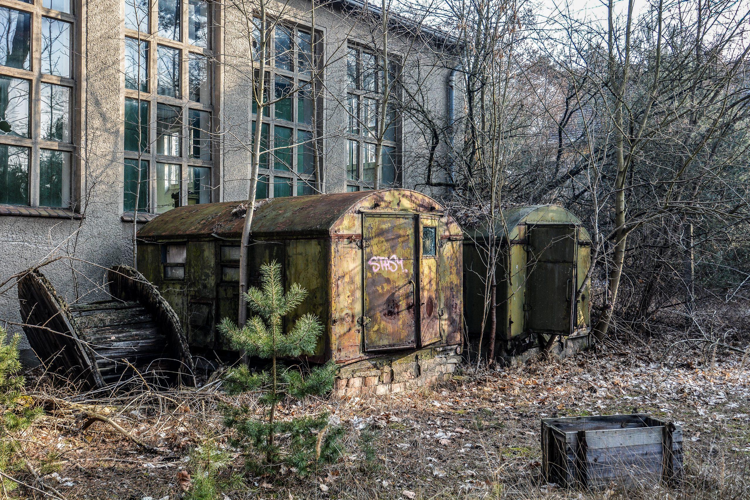 soviet supply caravans buildings forst zinna adolf hitler lager luckenwalde juterbog sowjet kaserne soviet military barracks germany lost places urbex abandoned