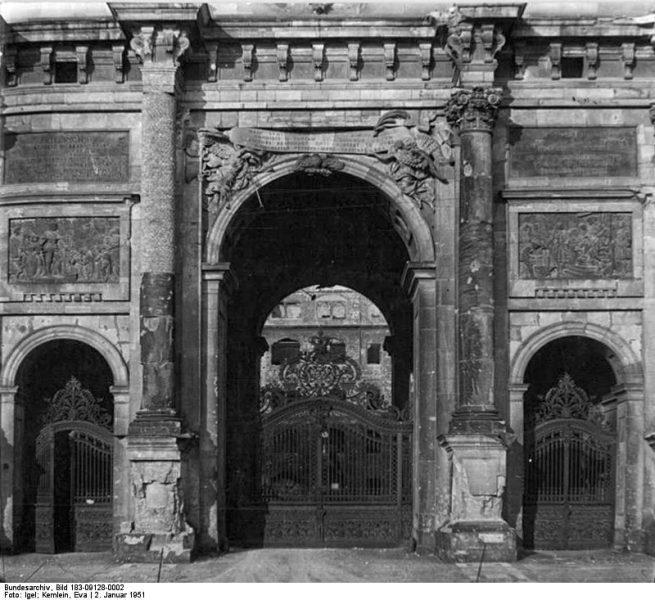 Berlin, Stadtschloss, Abriss| Illus-Igel-Kemlein-2.1.51-Kno-Bl.