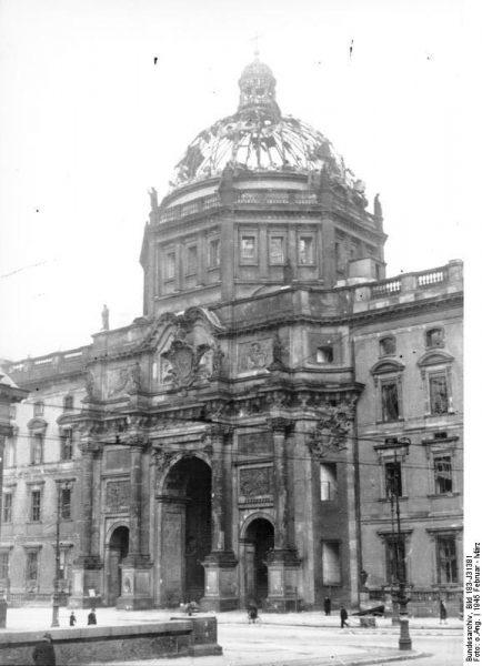 Berlin, Schloss, Zerstörungen | ADN-ZB/Archiv