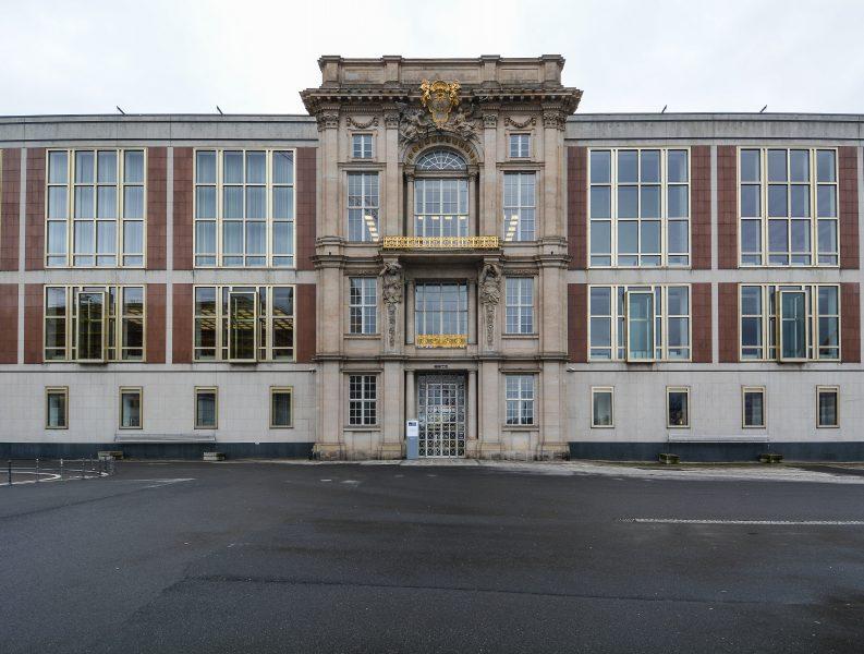 eingang entrance portal v liebknechtportal staatsratsgebaeude berlin DDR state council building esmt