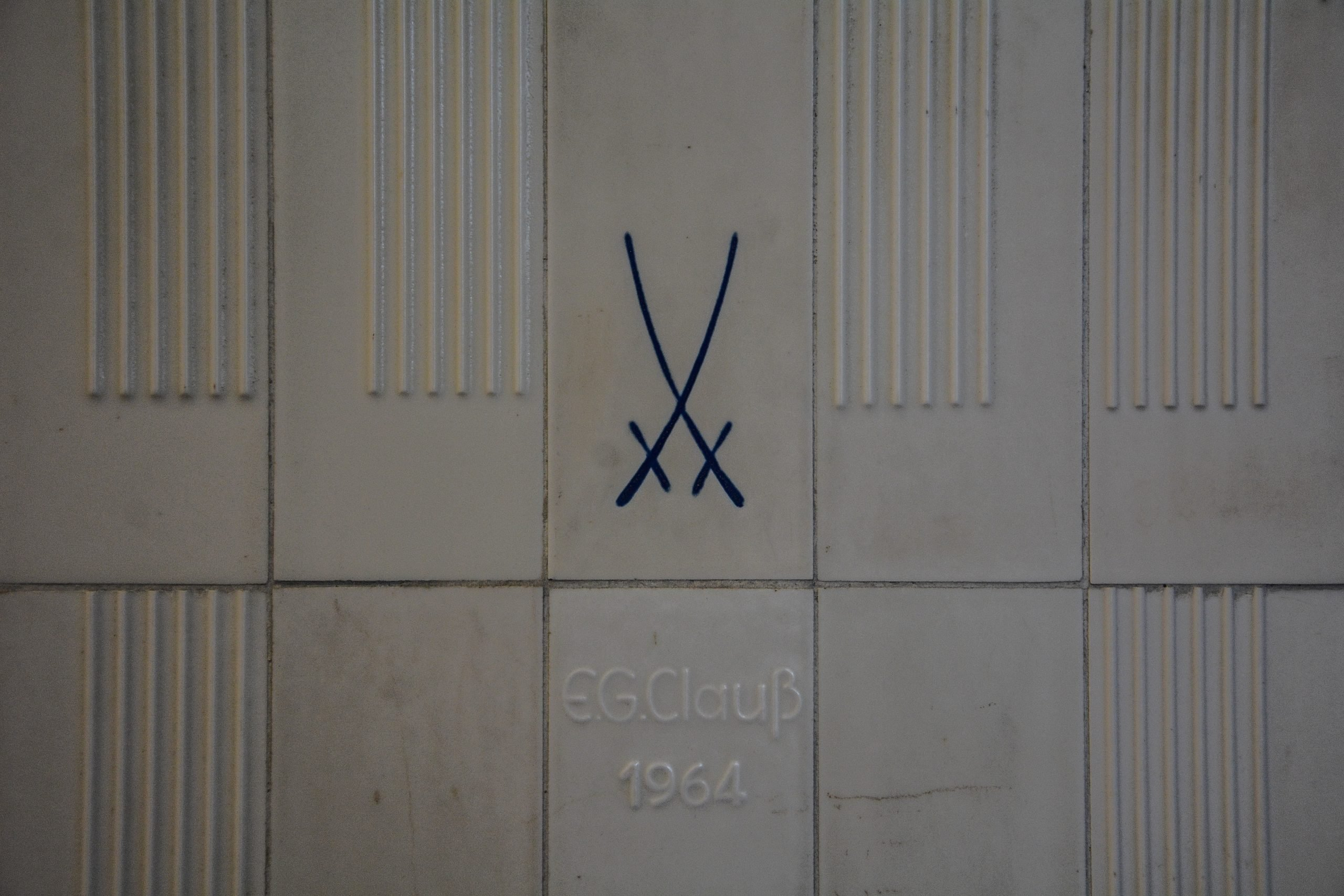 meissen fliesse eingang Tstaatsratsgebaeude berlin DDR state council building esmt