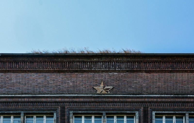 close up red star panzerkaserne bernau heeresbekleidungsamt hauptamt kaserne lindow soviet wehrmacht brandenburg lost places urbex abandoned