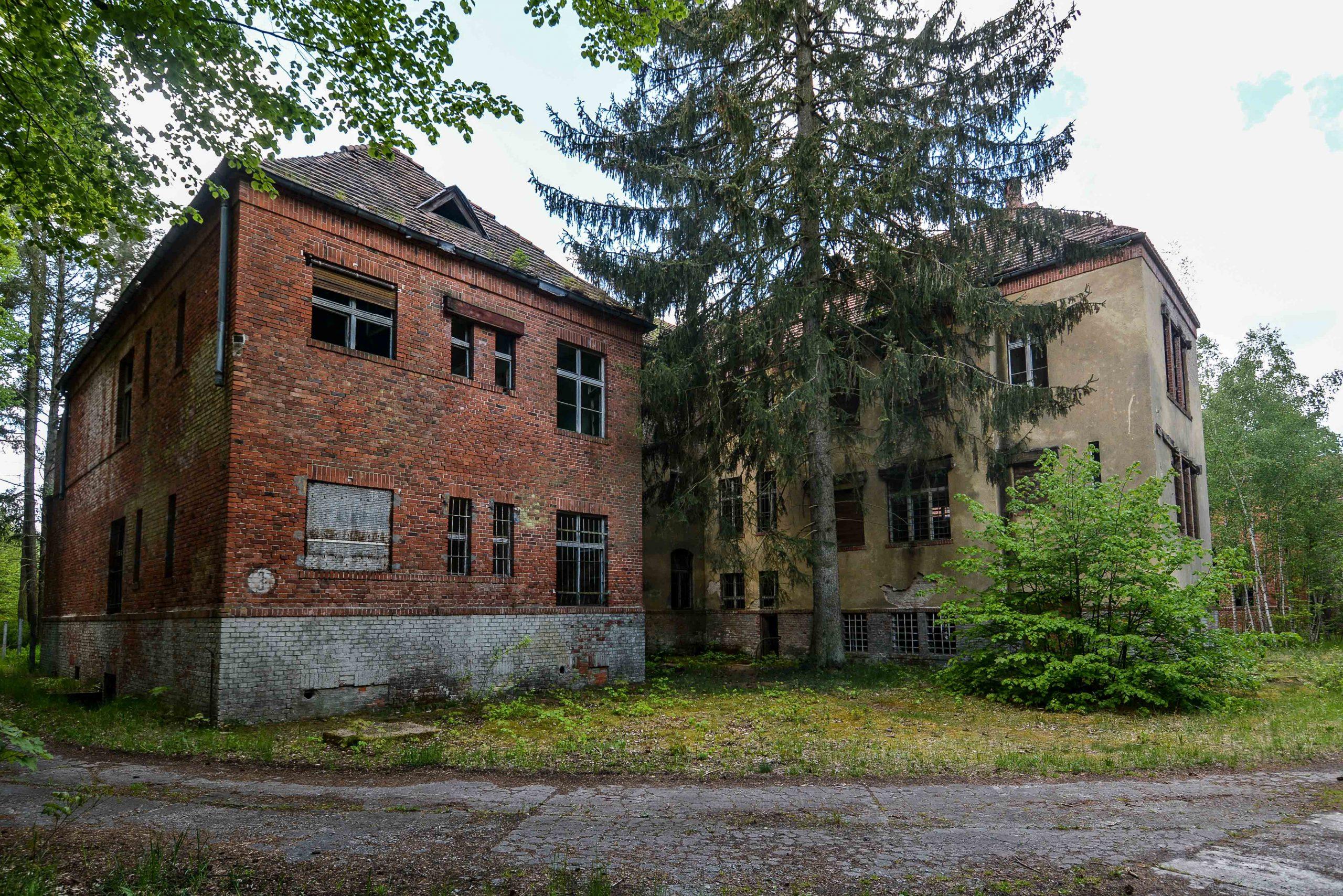 west wing sanatorium tuberkulose heilstaette grabowsee sanatorium oranienburg lost places abandoned urbex brandenburg germany deutschland