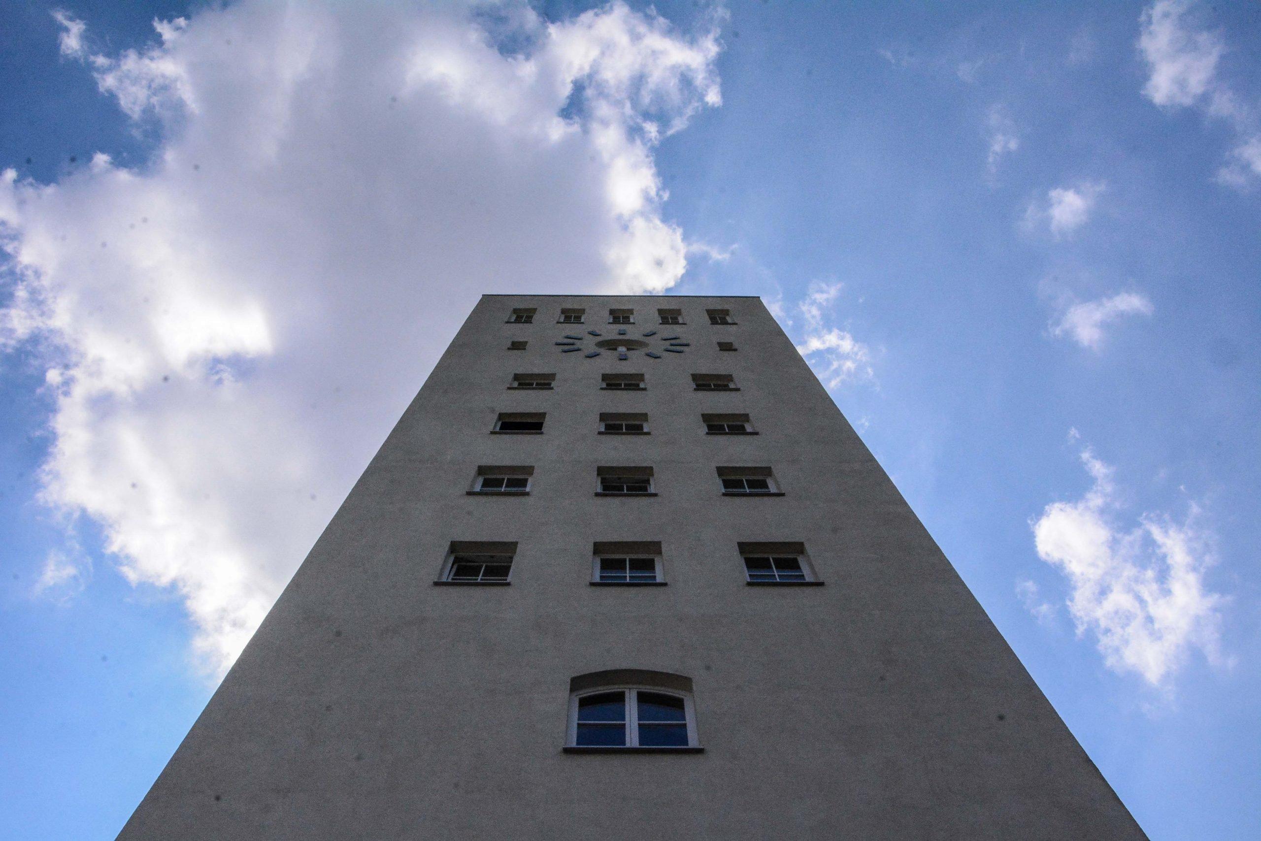 telefunken turm tower vierter ring four ring platz des 4 juli berlin hitler autobahn zehlendorf