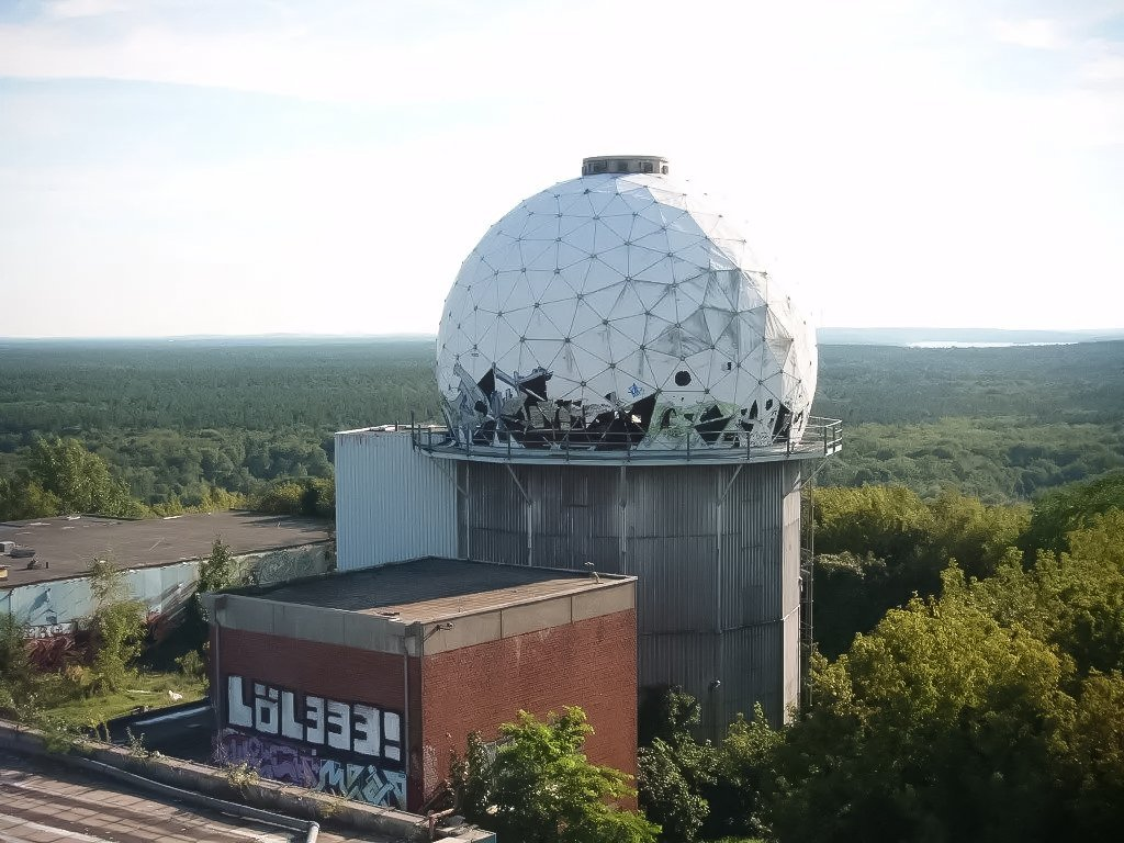 teufelsberg small dome
