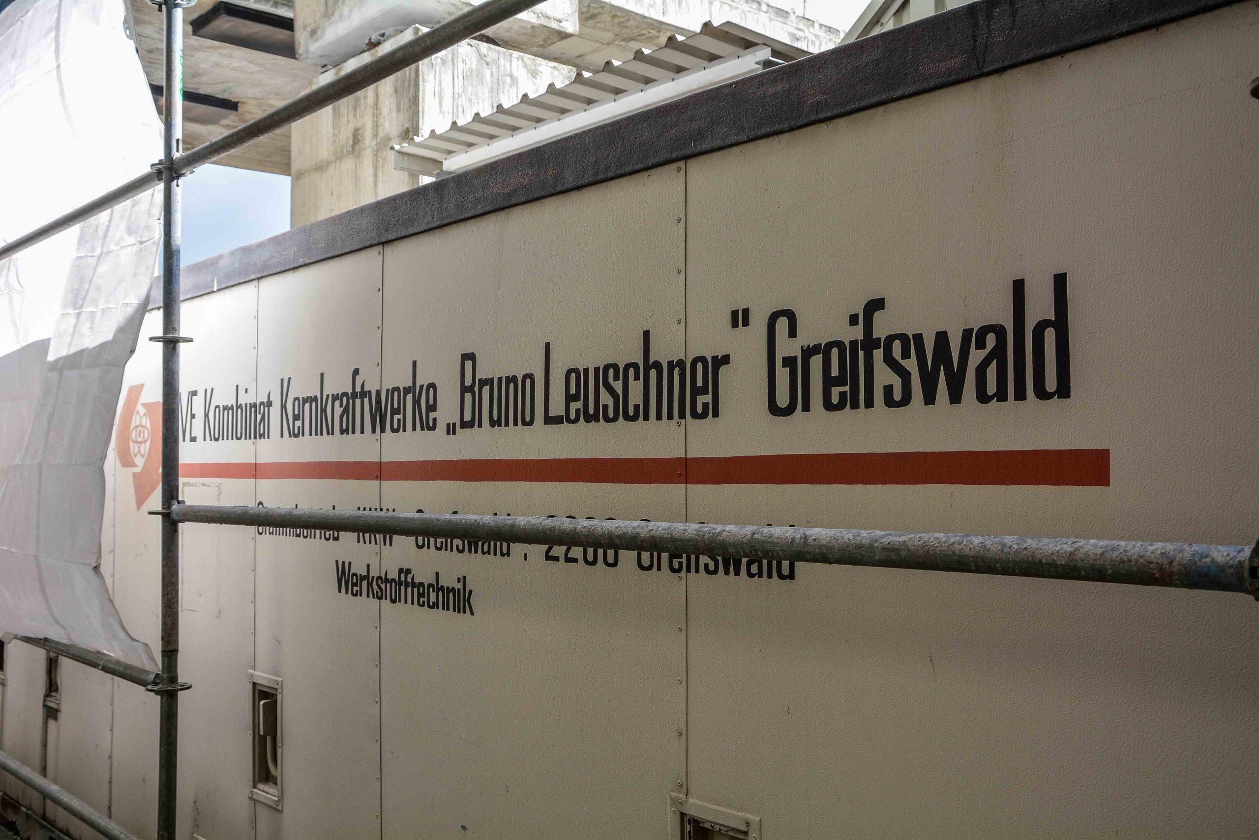bruno leuschner kernkraftwerk greifswald nuclear powerplant ost deutschland east germany gdr DDR mecklenburg vorpommern