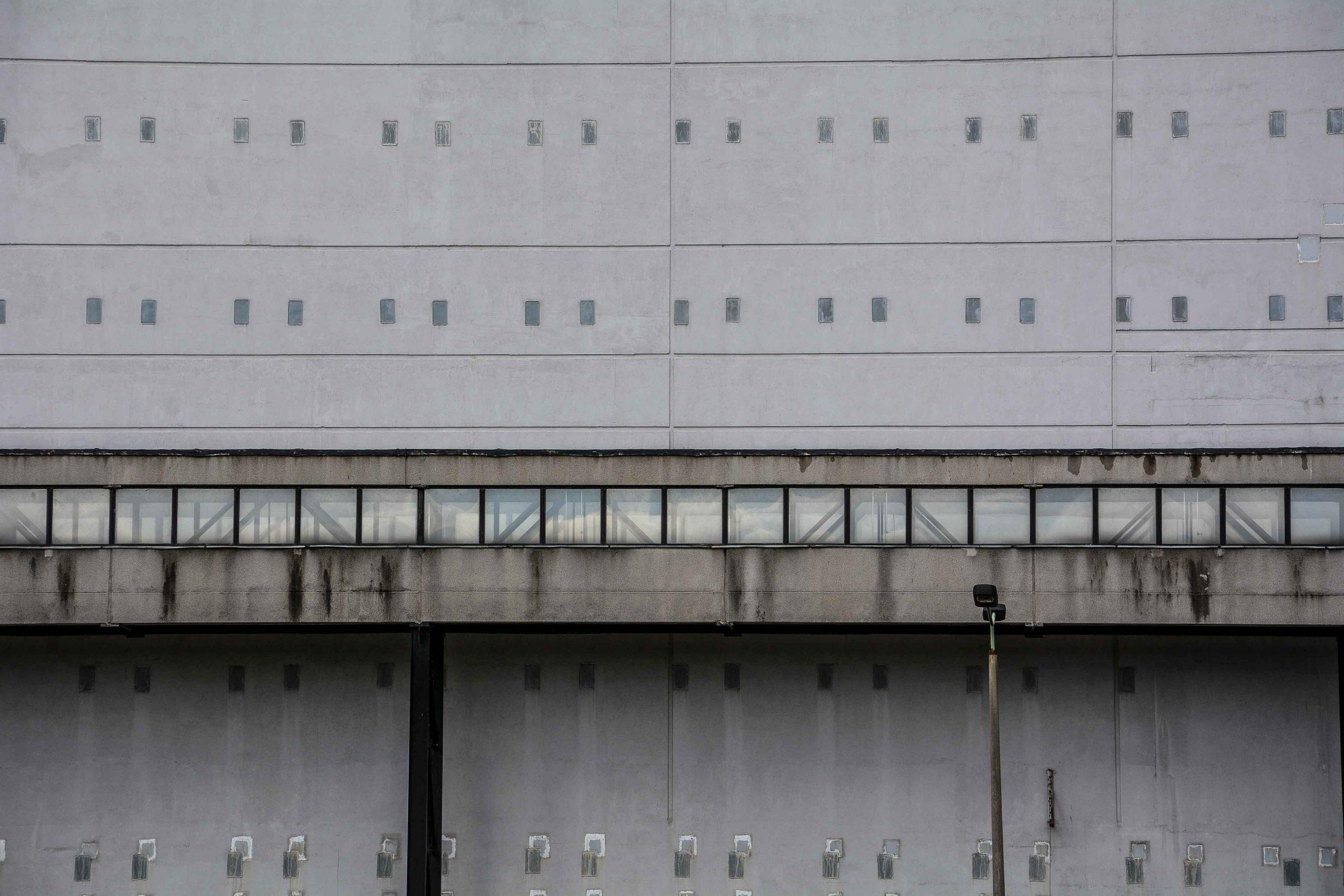 reactor block gangway kernkraftwerk greifswald nuclear powerplant ost deutschland east germany gdr DDR mecklenburg vorpommern