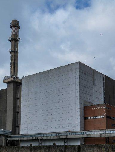 reactor block reaktor gebaeude kernkraftwerk greifswald nuclear powerplant ost deutschland east germany gdr DDR mecklenburg vorpommern
