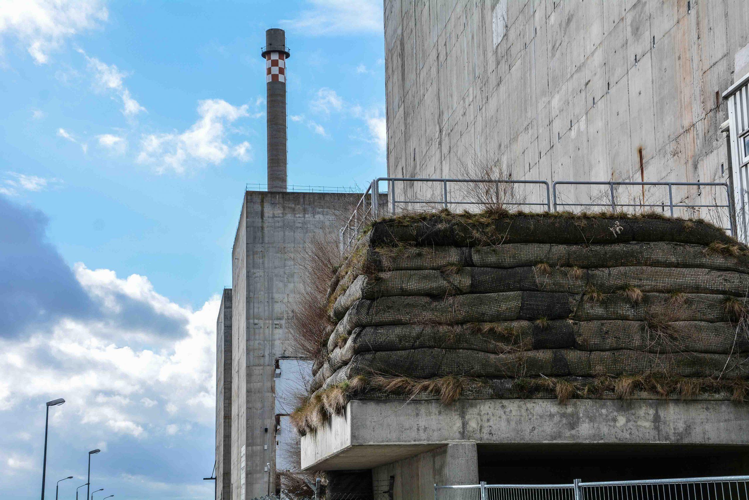 reaktor block 6 aussen ansicht kernkraftwerk greifswald nuclear powerplant ost deutschland east germany gdr DDR mecklenburg vorpommern