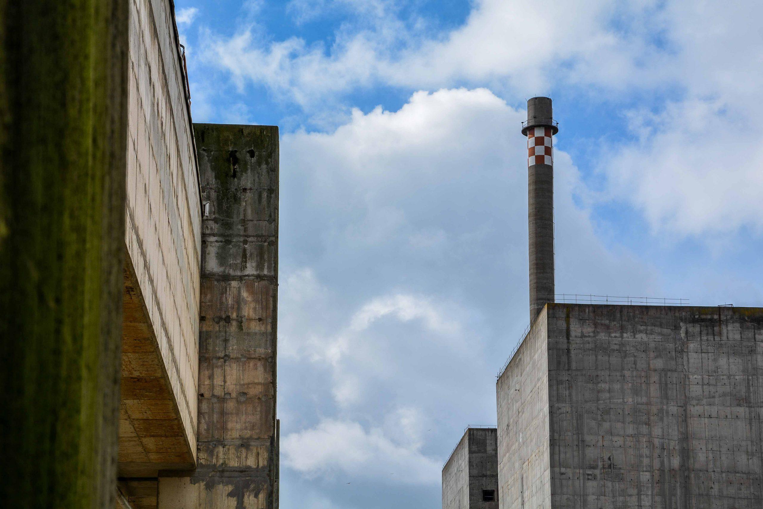 reaktor block gebaeude kernkraftwerk greifswald nuclear powerplant ost deutschland east germany gdr DDR mecklenburg vorpommern