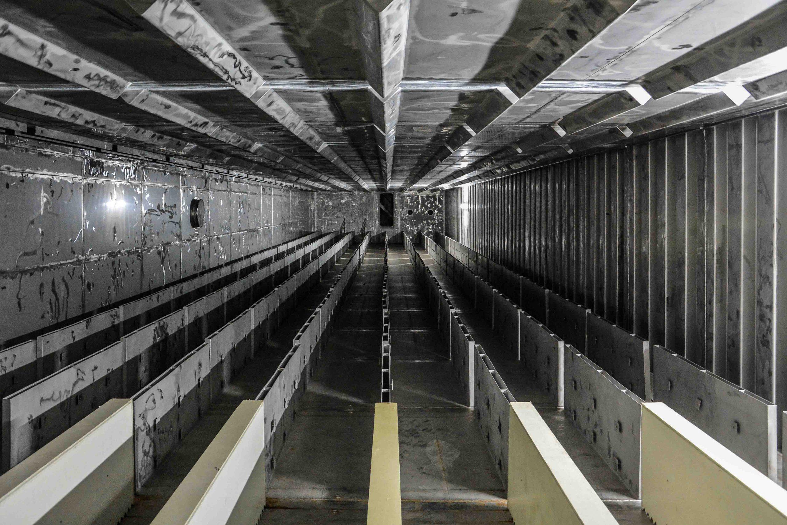 reaktor gebaeude innen ansicht kernkraftwerk greifswald nuclear powerplant ost deutschland east germany gdr DDR mecklenburg vorpommern