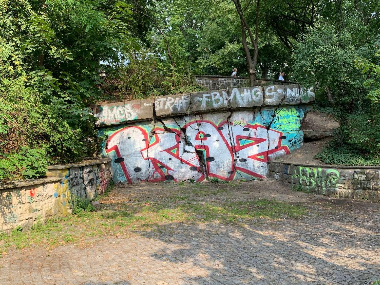 volkspark friedrichshain bunkerberg reste