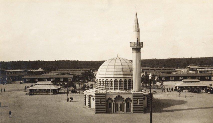 Halbmondlager Mosque  in Zossen Wünsdorf circa 1915