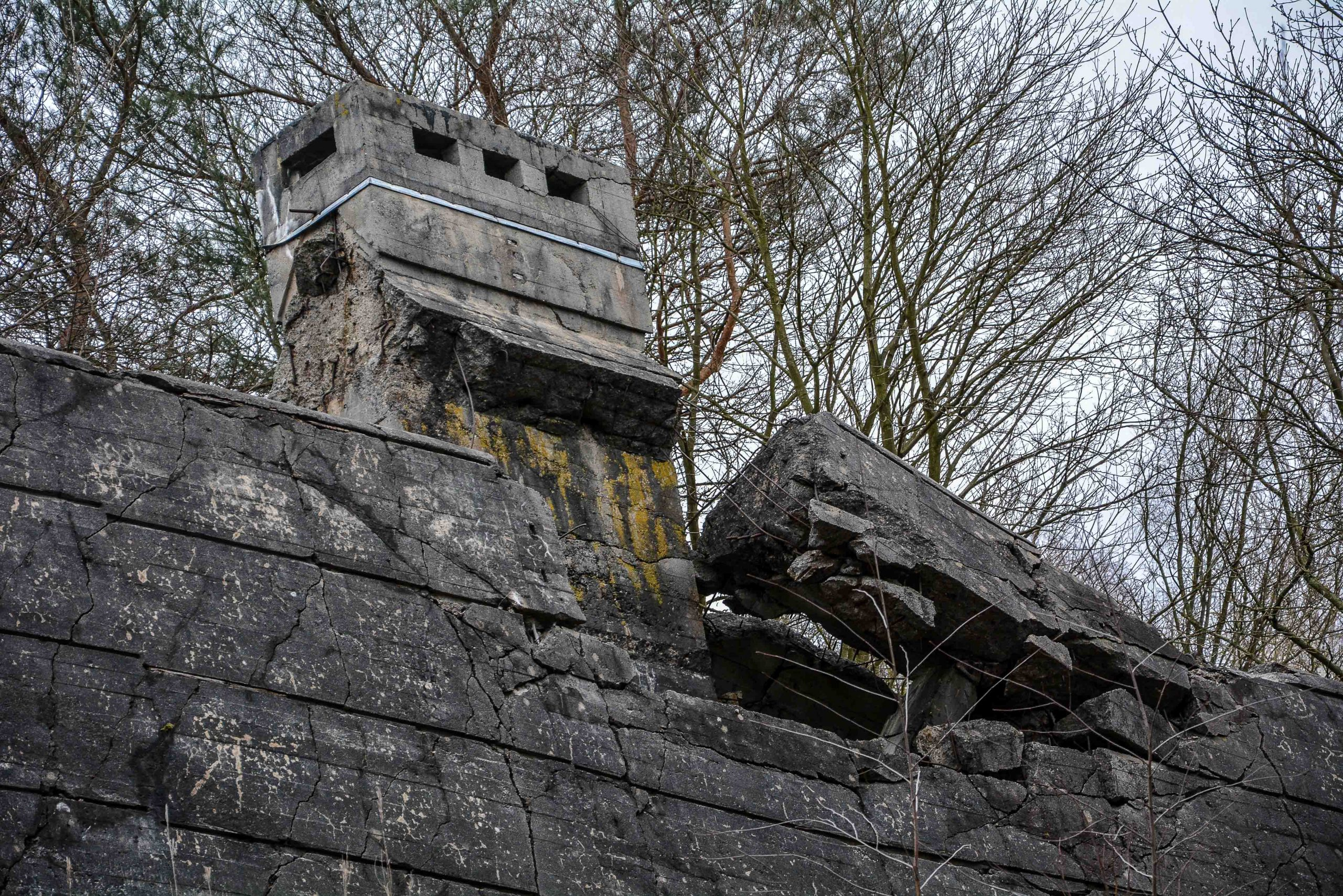 maybach I chimney bunker zeppelin amt 500 maybach bunker ranet wehrmacht sowjet soviet military zossen brandenburg germany lost palces urbex abandoned