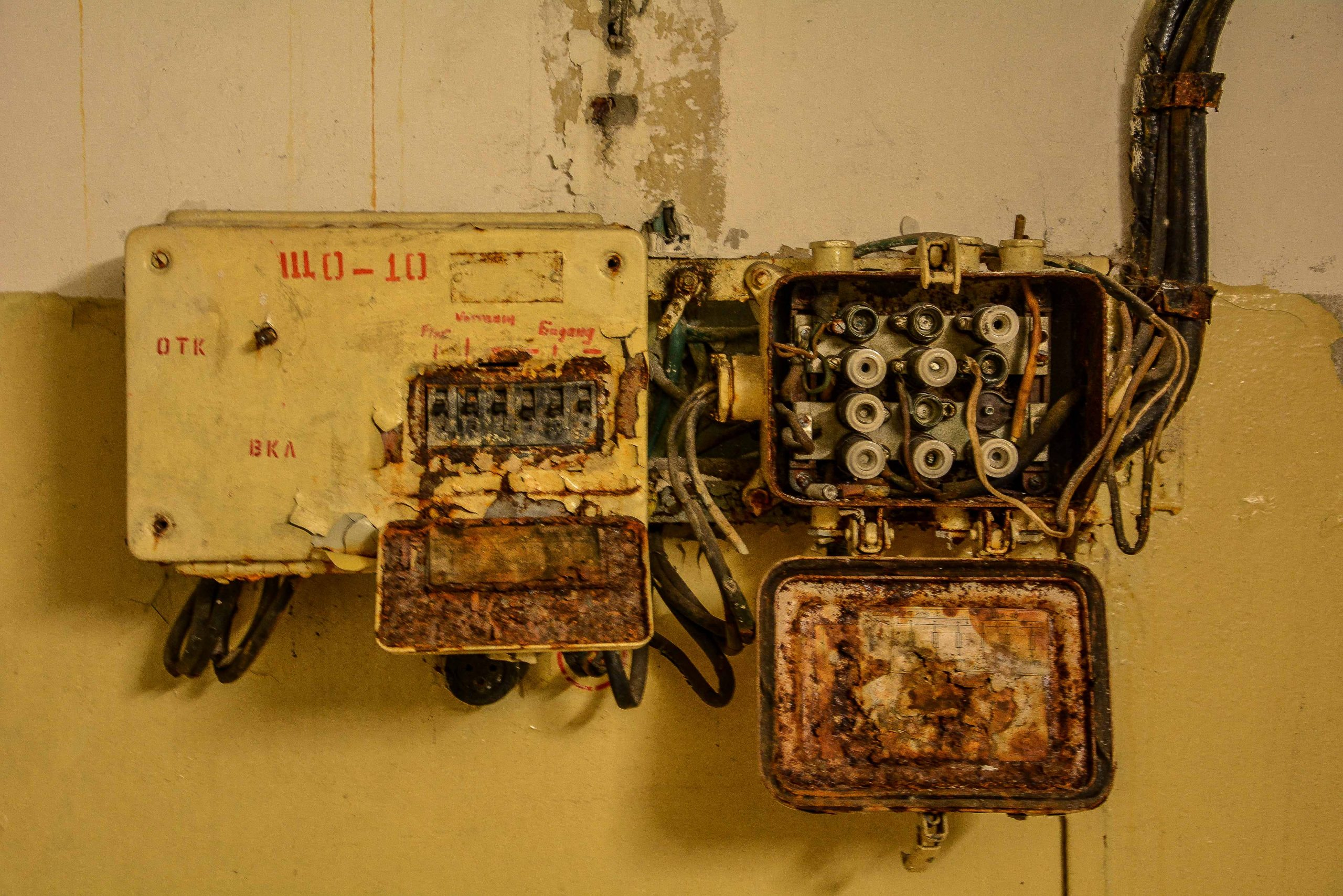soviet fusebox bunker zeppelin amt 500 maybach bunker ranet wehrmacht sowjet soviet military zossen brandenburg germany lost palces urbex abandoned
