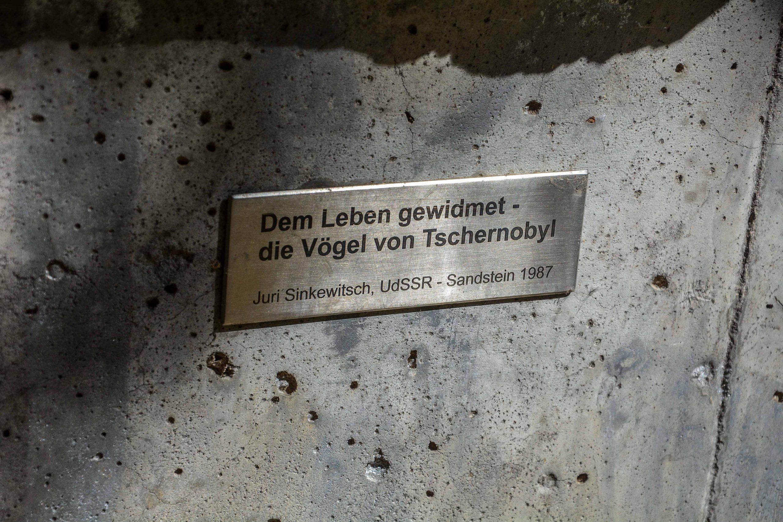 Chernobyl Memorial Berlin Lichtenberg fennpfuhlpark tschernobyl denkmal berlin deutschland juri sinkewitsch