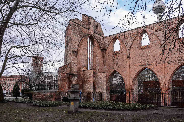 Chernobyl Memorial Berlin Mitte tschernobyl denkmal berlin mitte ruinde der franziskaner klosterkirche