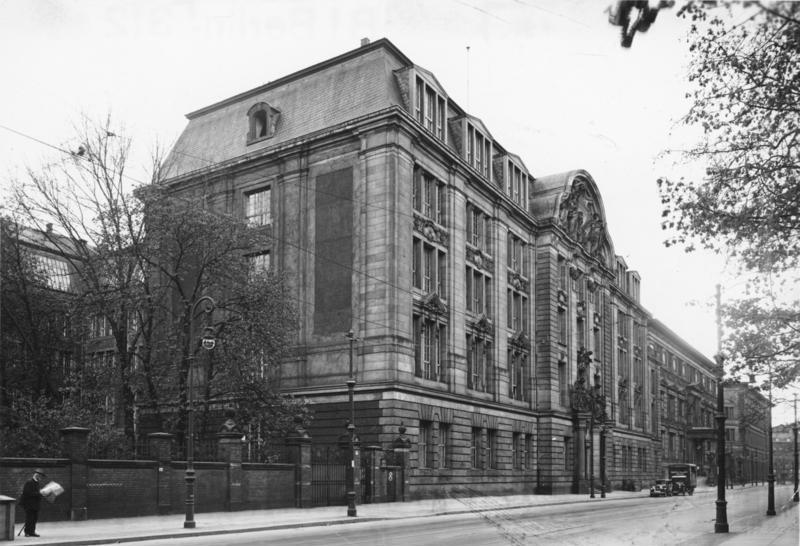 The Gestapo Headquarters in Berlin