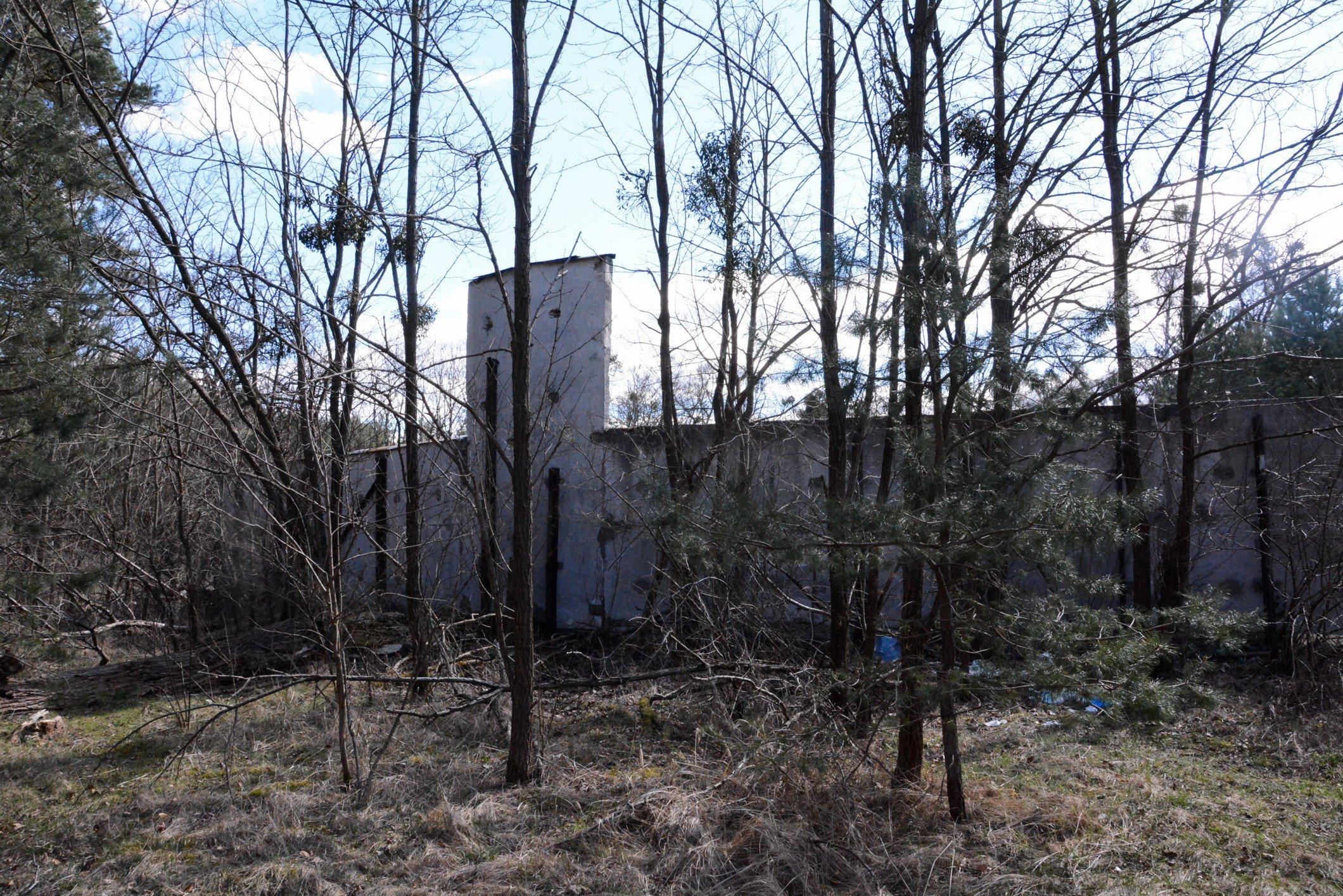 back soviet mural rueckseite ehrenmal soviet war memorial sowjetisches ehrenmal fürstenberg drögen brandenburg deutschland lost places urbex abandoned