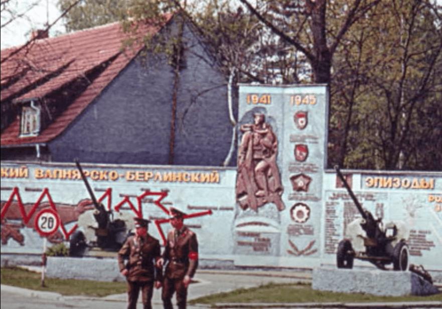 soviet military mural fürstenberg drögen sowjetisches ehrenmal gedenktafel brandenburg