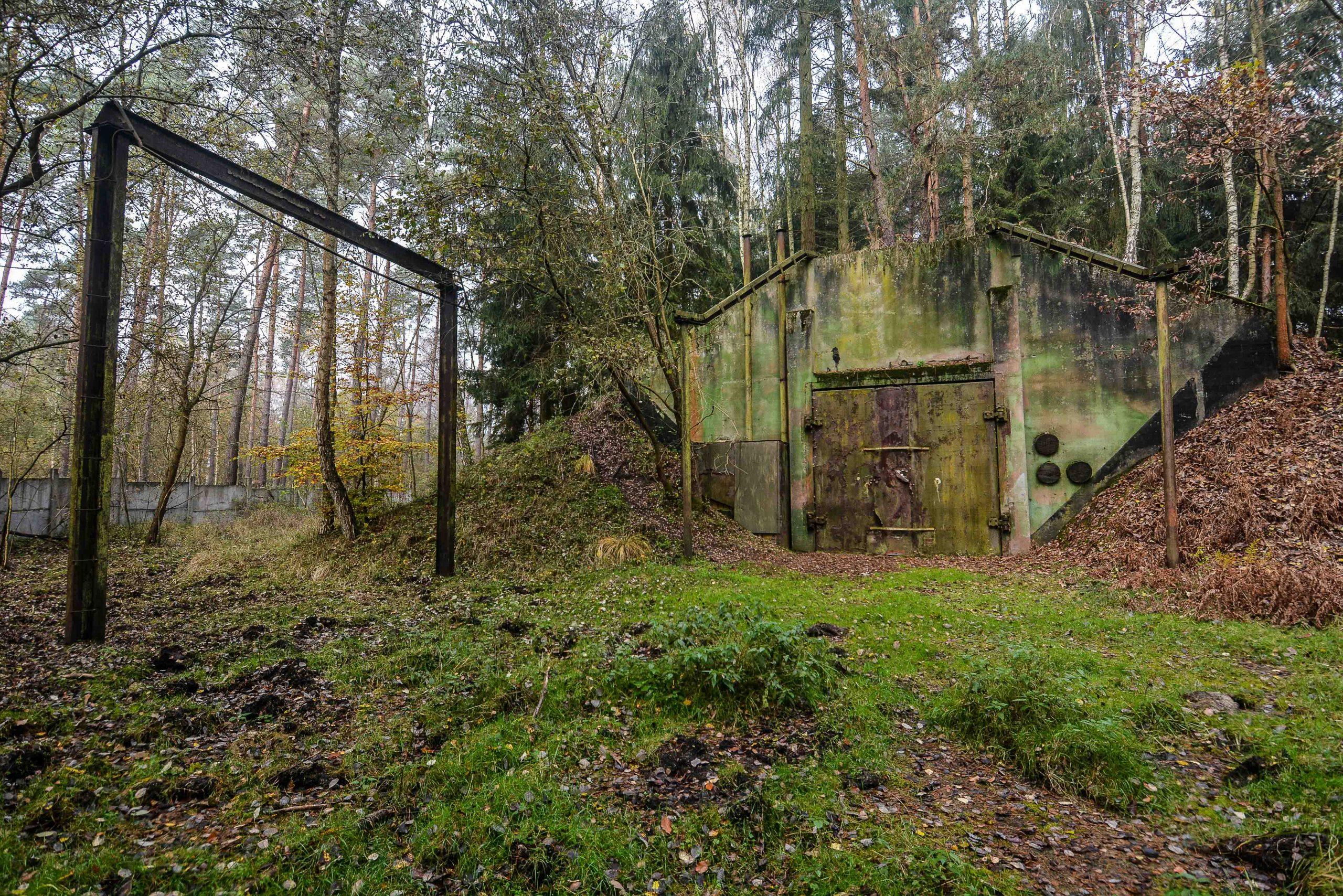 vogelsang sowjetische kaserne bunker soviet bunker military instalation brandenburg germany
