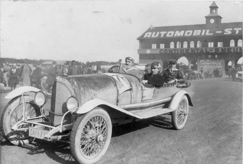 Auto-Reichsfahrt 1921, Avus, Berlin