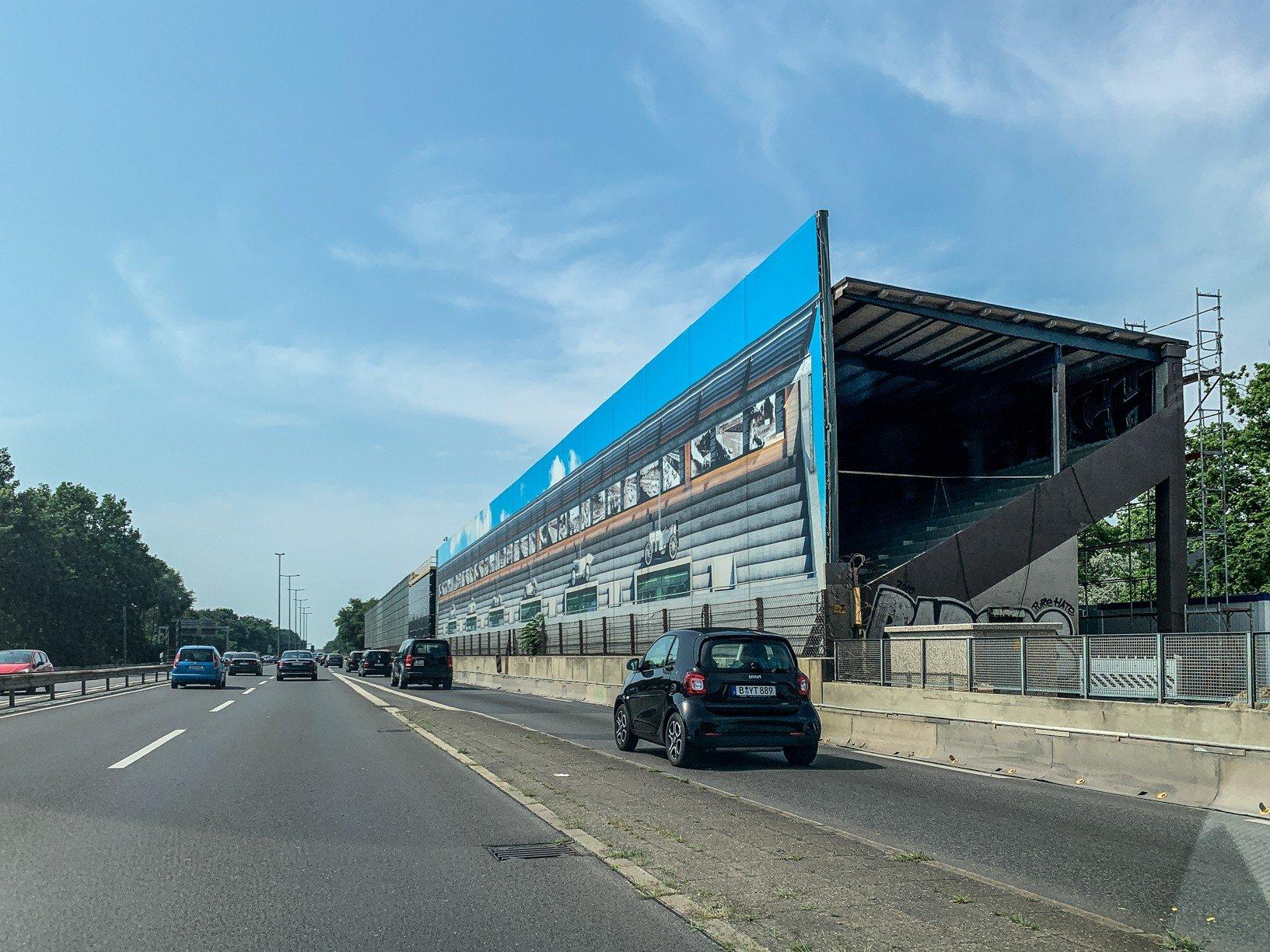 avus tribüne berlin 2021 renovierung autobahn
