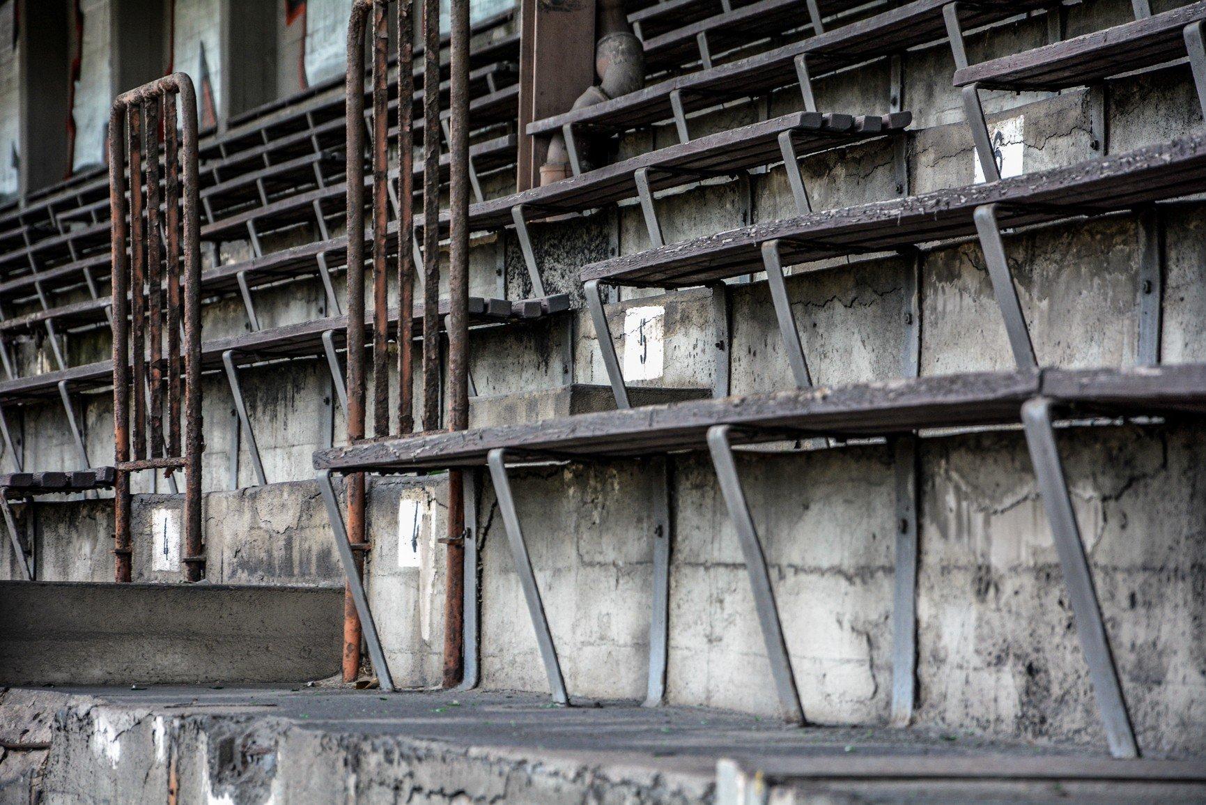 avus tribüne sitzbank lost places abandoned berlin urbex germany