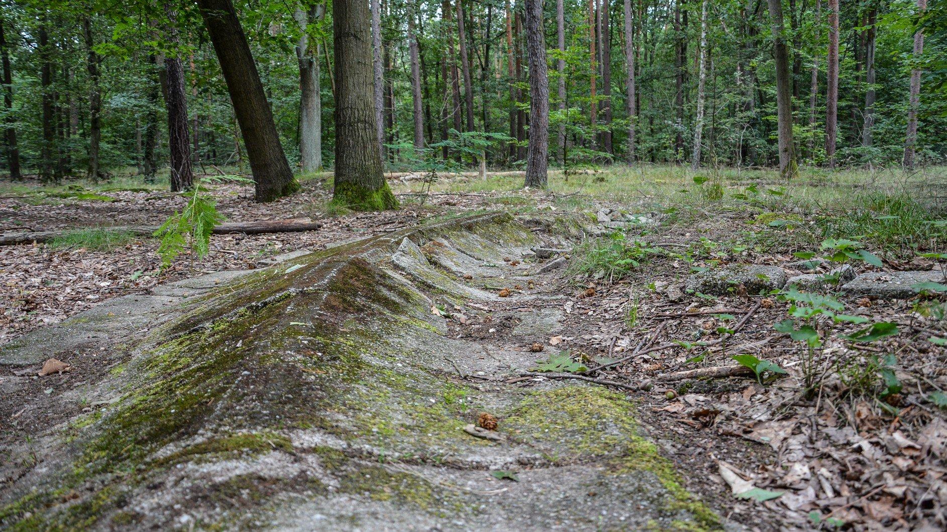 rechtskurve avus südkurve modell berlin charlottenburg lost places urbex abandoned berlin